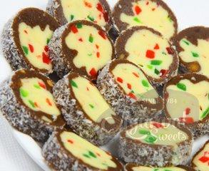 Chocolate fruit roll